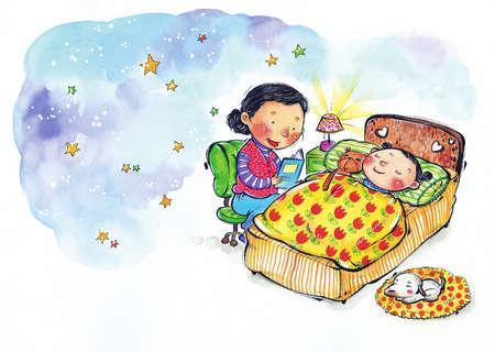 4 domande da fare ai vostri bambini ogni sera - Metodi per far dormire i bambini nel loro letto ...