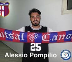 Un nuovo portiere per l'Apulia Food Canosa – arriva Alessio Pompilio