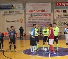 Esordio con vittoria in Coppa Della Divisione: la Futsl Ruvo soccombe 4-6