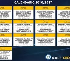 Ufficializzato il calendario della stagione 2016/2017