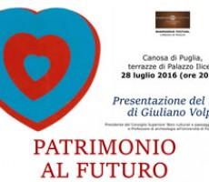 """Palazzo Iliceto, presentazione del libro """"Patrimonio al Futuro"""""""
