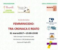 Femminicidio: tra cronaca e reato
