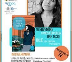 Gabriella Genisi presenta a Canosa di Puglia il suo nuovo noir prossimamente in tv