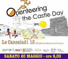 A Canosa l'Orienteering Castle day