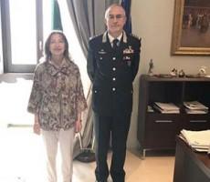Il Prefetto accoglie in Prefettura il Comandante Interregionale dei Carabinieri