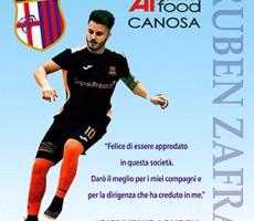 Ruben Zafra è un nuovo giocatore dell'Apulia Food Canosa