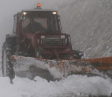Fenomeni nevosi – Il settore Viabilità della Provincia assicura la percorribilità delle principali strade di competenza
