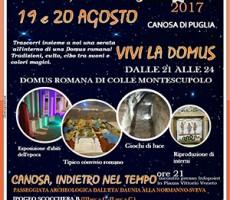 Un week end tra le magnificenze romane a Canosa di Puglia: degustazioni, proiezioni, mostre e giochi di luce