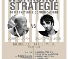 Workshop Strategie di Marketing e Comunicazione