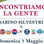 Incontriamo la Gente – Prossimo Appuntamento con Sabino Silvestri e tutta la Coalizione di Centro – Destra