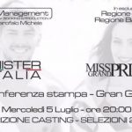 Mister Italia e Miss Grand Prix, parte il tour della Regione Puglia