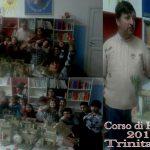 Il Corso di Presepi tra ragazzi del Centro Arcobaleno Volontariato Vincenziano a Trinitapoli