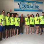 Domenica intensa di gare con i Campionati Regionali Fin Puglia stagione 2018 per il team Aquarius