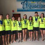 Medaglie ai Campionati Federali Regionali di Categoria e pass per i Criteria Nazionali Giovanili Kinder