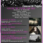 La Settimana Santa a Canosa: riti, tradizioni, buon cibo ed archeologia