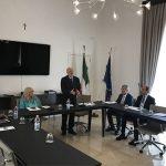 Il Commissario Straordinario antiracket ed antiusura Cuttaia in Prefettura a Barletta
