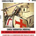Canosa tardo antica e medievale: ripercorrendo le gesta del Principe Boemondo e del Santo Sabino