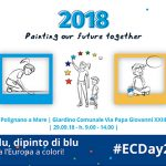 Nel blu, dipinto di blu! Disegna l'Europa a colori!