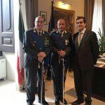 Visita in Prefettura del nuovo Comandante del Gruppo Guardia di Finanza di Barletta