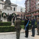 Celebrato a Barletta il Giorno dell'Unità Nazionale e delle Forze Armate