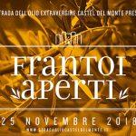 Frantoi aperti – domenica 25 novembre
