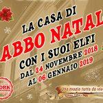"""Babbo Natale dimorerà ad Andria: l'evento """"la casa di Babbo Natale con i suoi Elfi con la direzione artistica di Sabino Matera"""