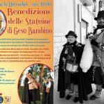 Benedizione delle Statuine di Gesù Bambino e con le dolce musica delle zampogne a Canosa di Puglia