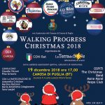 """Walking progress christmas 2018"" a Canosa"