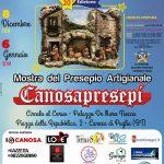 """Al via la 20 Edizione della Mostra del Presepio Artigianale """"CanosaPresepi"""""""