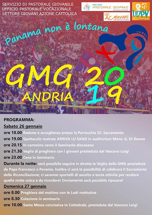 Panama non è lontana - GMG 2019 Andria ef03adff7f77