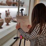 Una lezione d'arte al museo archeologico nazionale di Canosa: i ragazzi della scuola Pavoncelli e le loro opere protagonisti