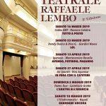 """Al via il Premio Teatrale """"Raffaele Lembo"""""""