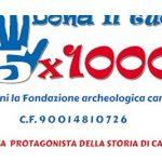 Dona il tuo 5×1000 alla Fondazione Archeologica Canosina
