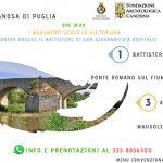 I monumenti lungo la via Traiana e bontà tipiche: il week end a Canosa