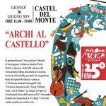 Il sito Unesco di Castel del Monte propone Archi al Castello