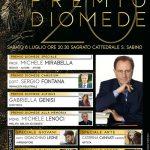 """Al professor Michele Mirabella il """"Premio Diomede Speciale"""""""